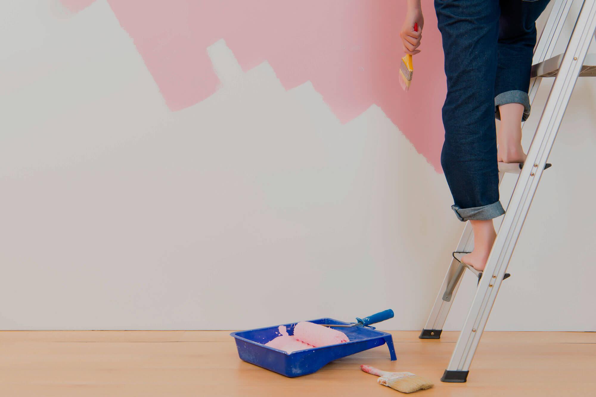 Vamos Aprender em 6 Passos Como Pintar Parede?